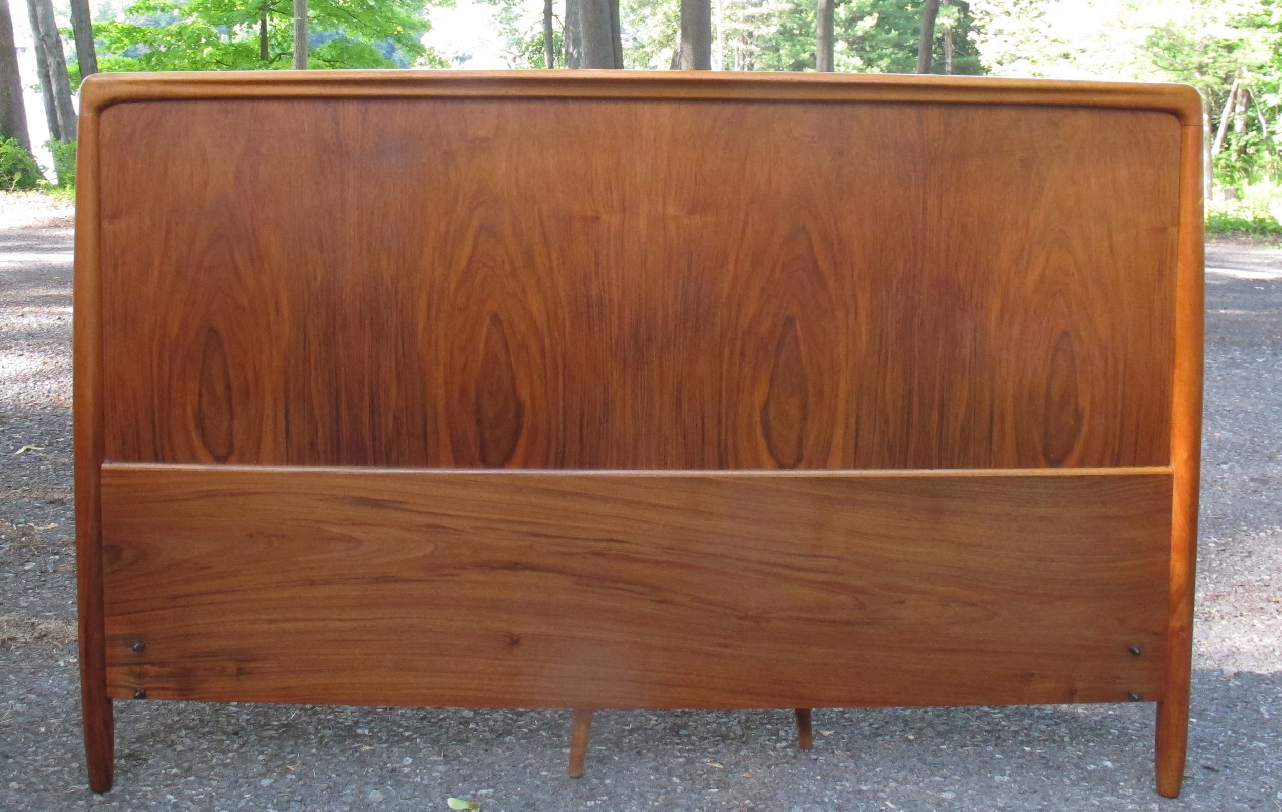 DANISH MODERN FULL SIZE TEAK HEADBOARD