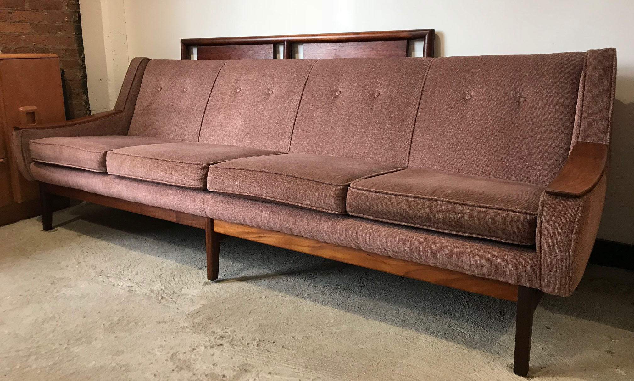 DANISH MODERN LONG SOFA