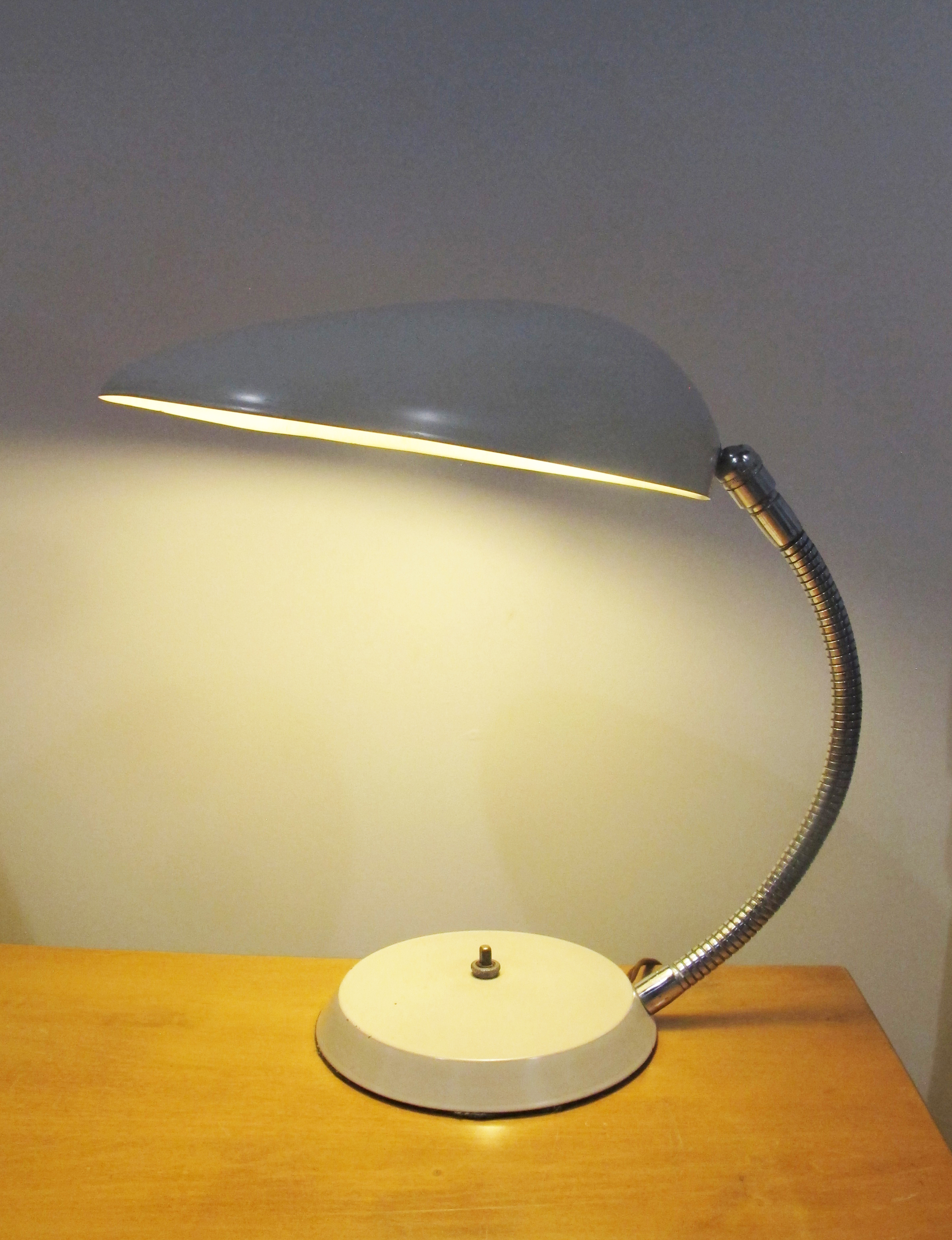 ORIGINAL GRETA MAGNUSSON-GROSSMAN COBRA TABLE LAMP