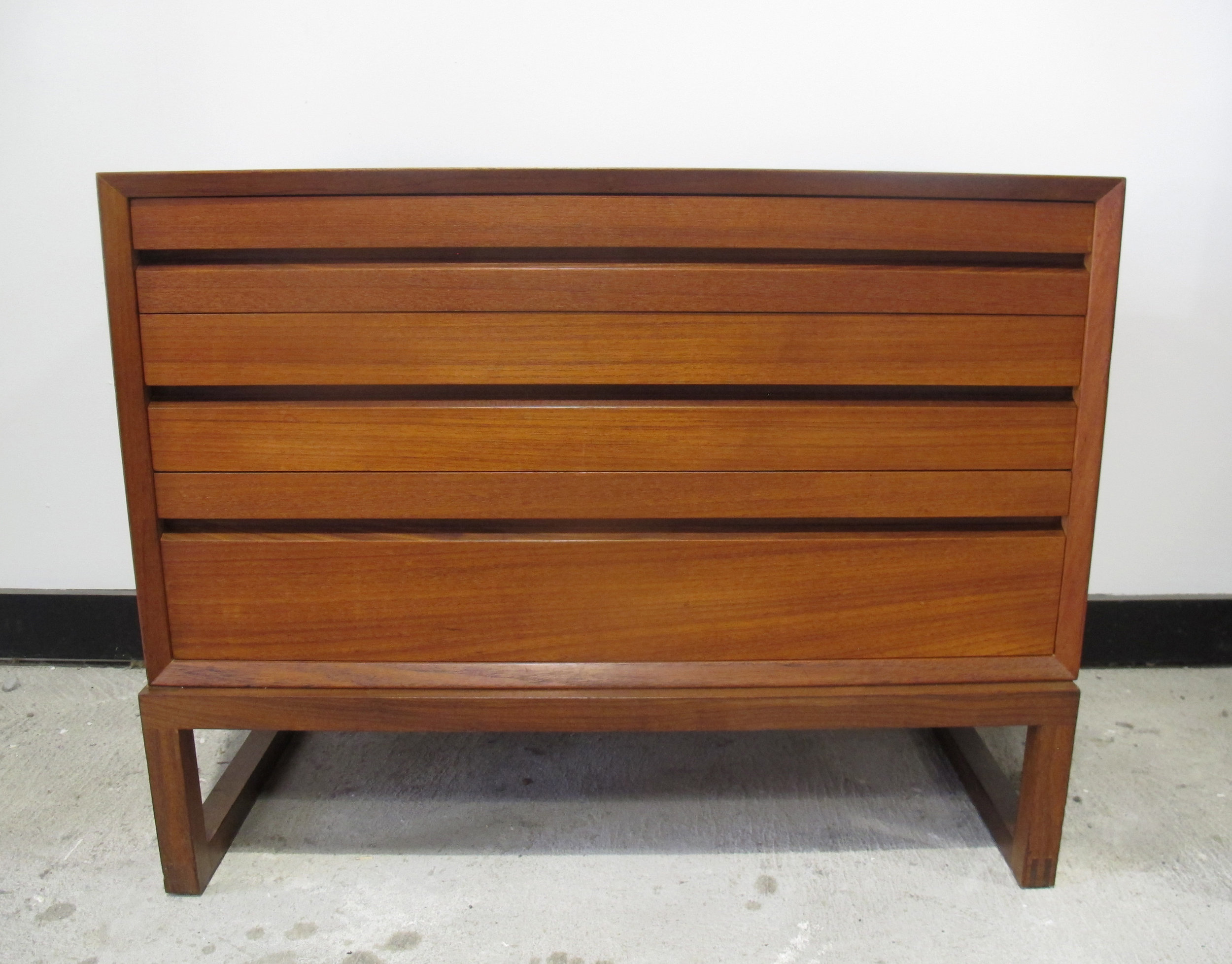 DANISH MODERN CADO STYLE CABINET WITH STAND