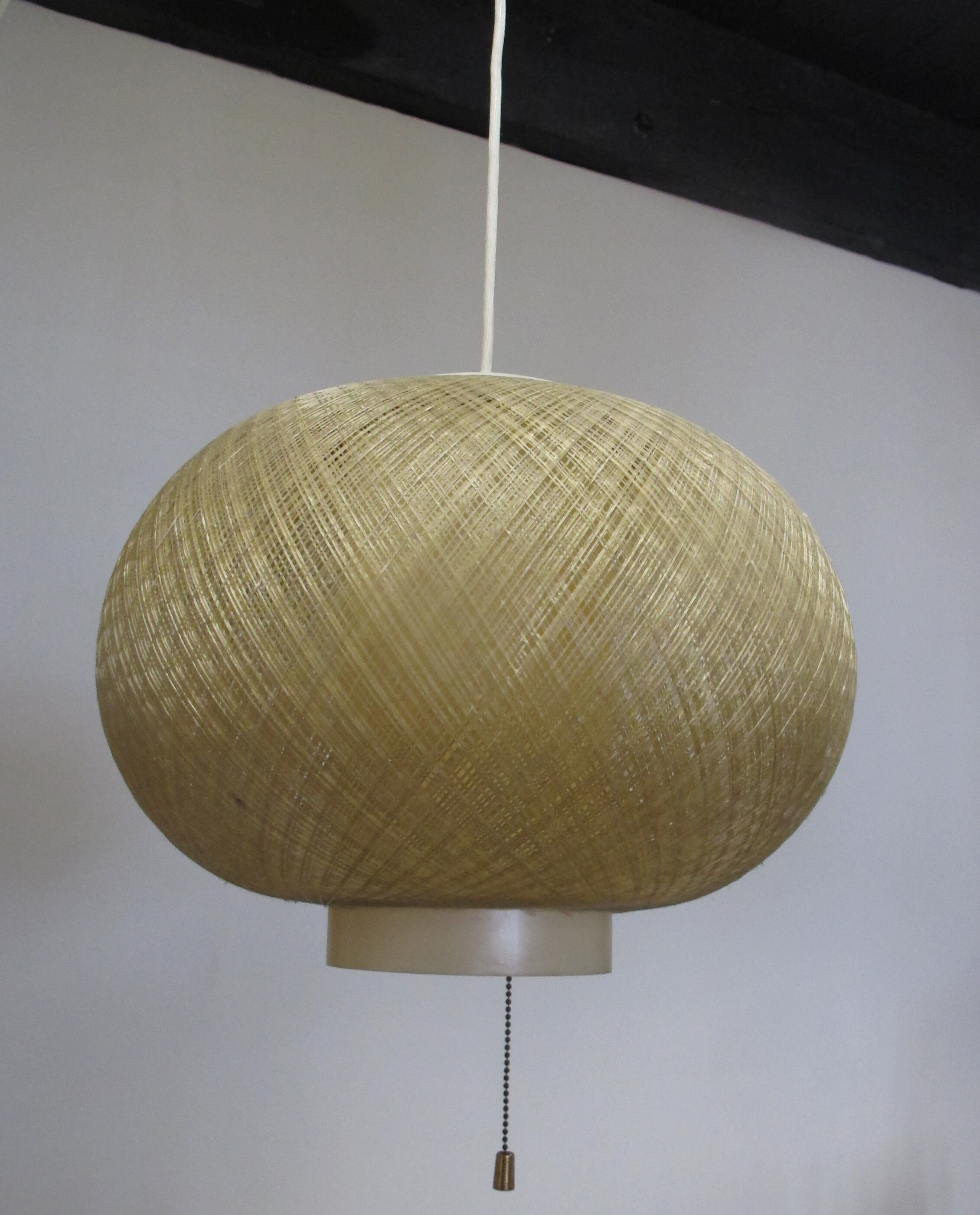 MID CENTURY STRING SWAG LAMP