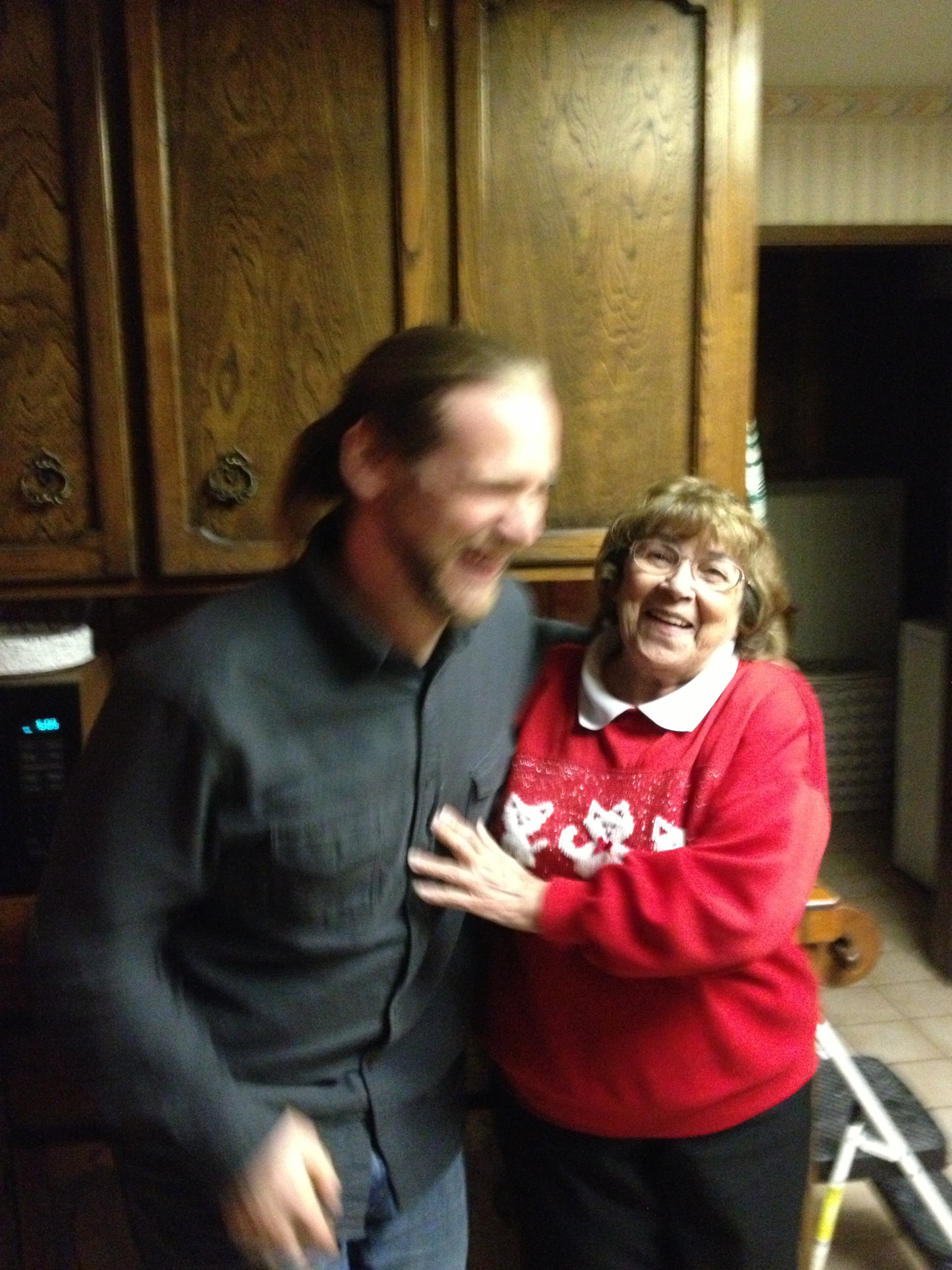 Me & my Grandma, whom I am missing dearly this Thanksgiving.