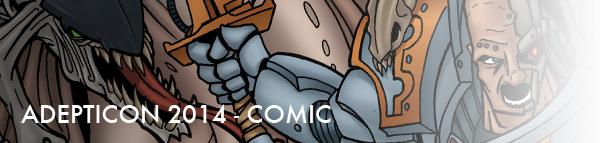adepticon 2014 comic banner