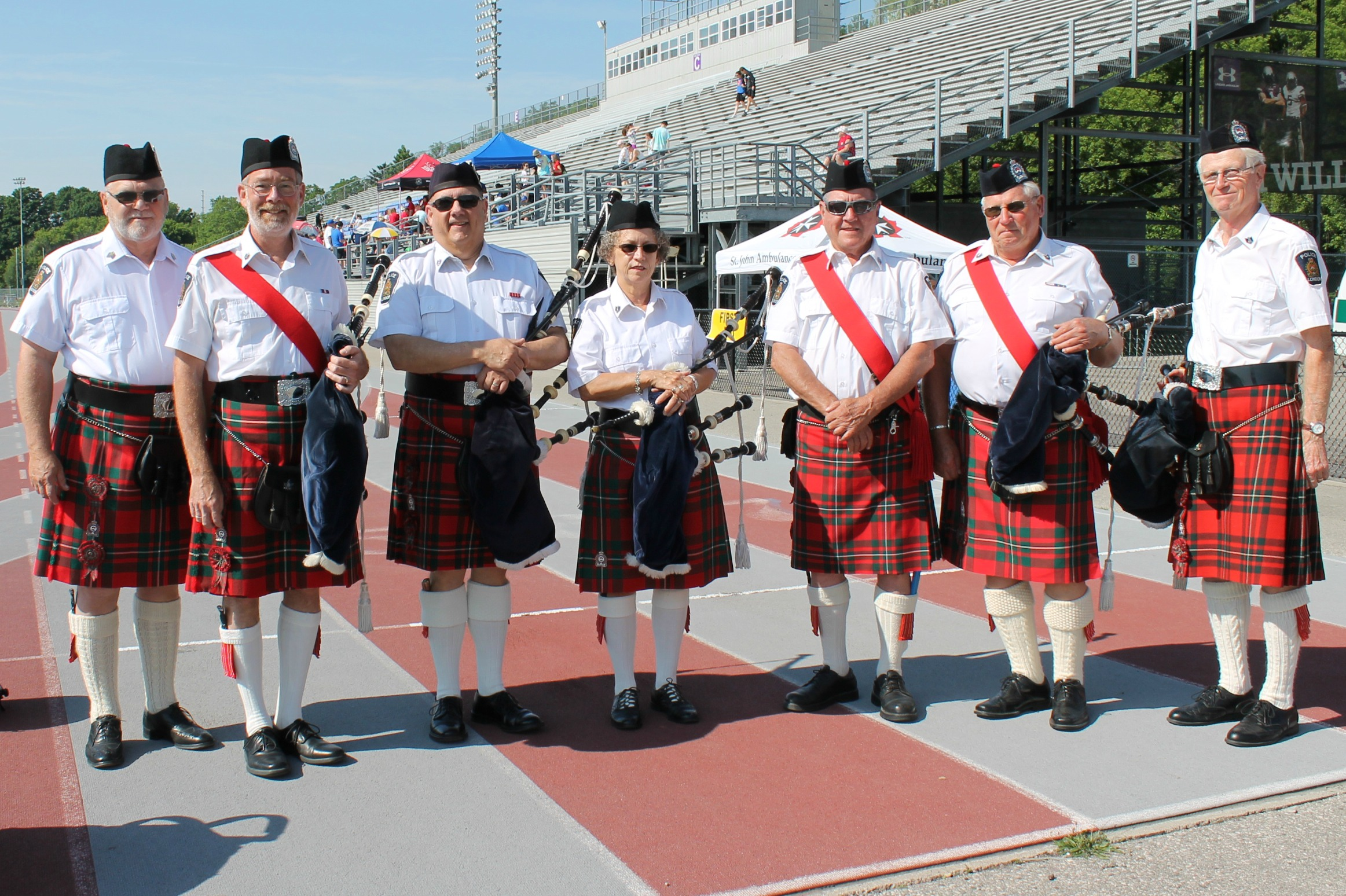 TVDSB Special Olympics 2015 - Pipe Band