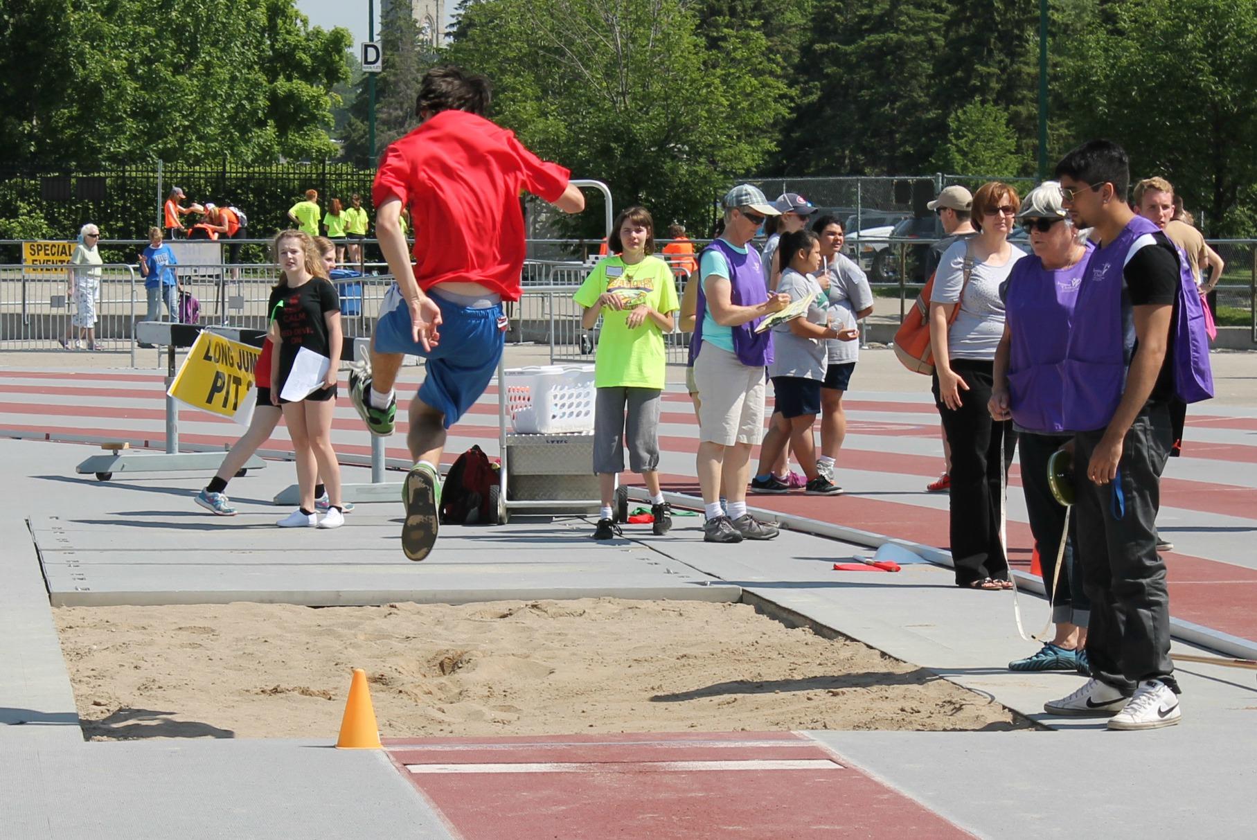 TVDSB Special Olympics 2015 - Long Jump