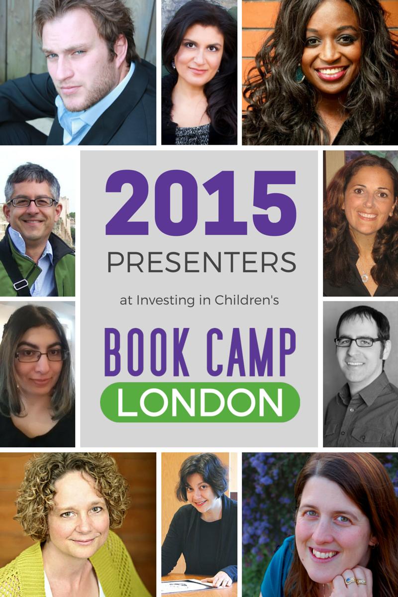 Book Camp London 2015 Presenters