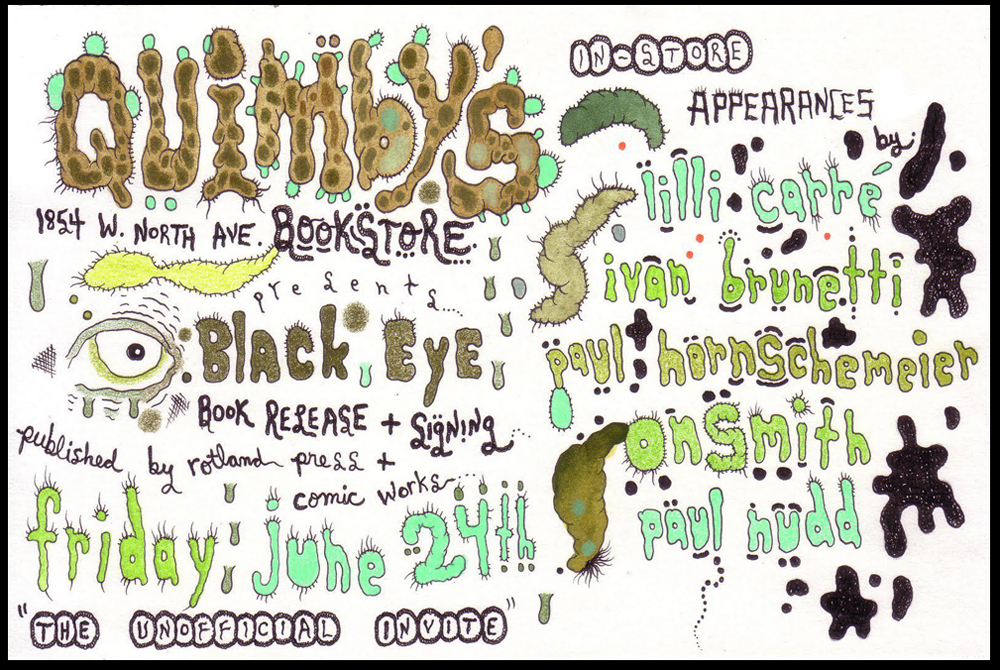 Quimby's BLACK EYE Event