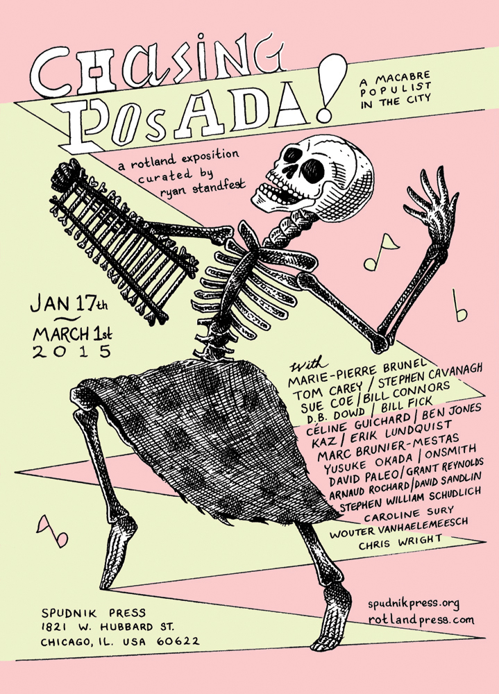 CHASING POSADA! (Chicago) Exhibition Poster