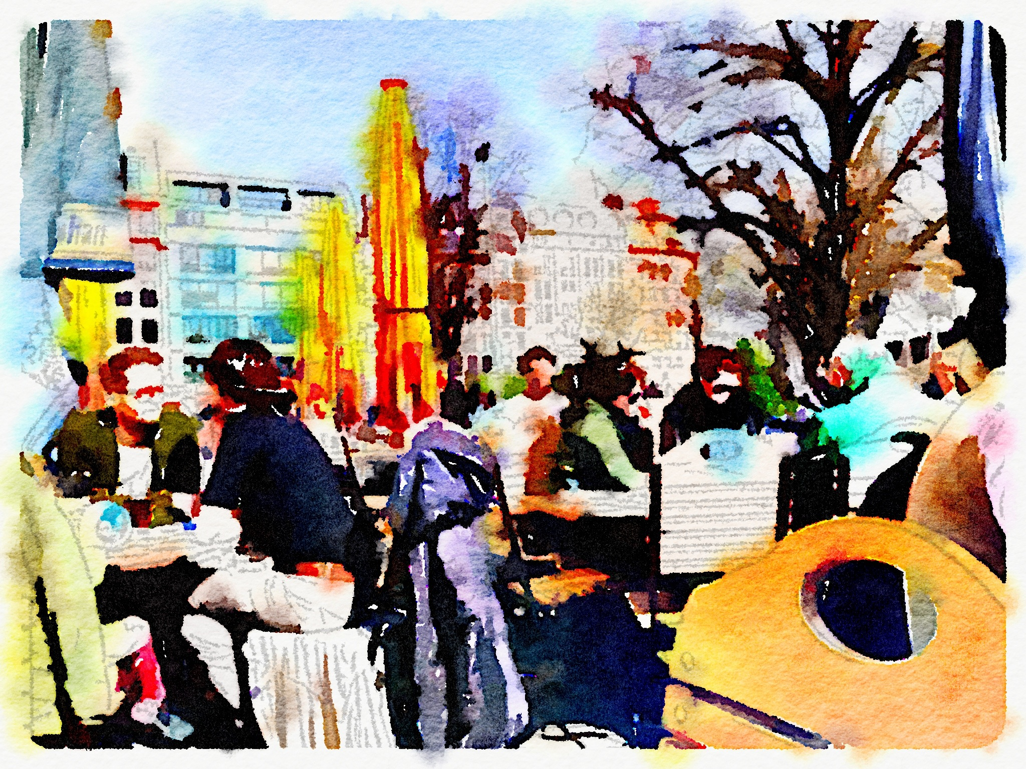 iphone using waterlogue