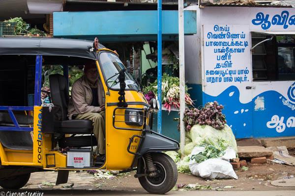 Auto Rickshaw in Ooty