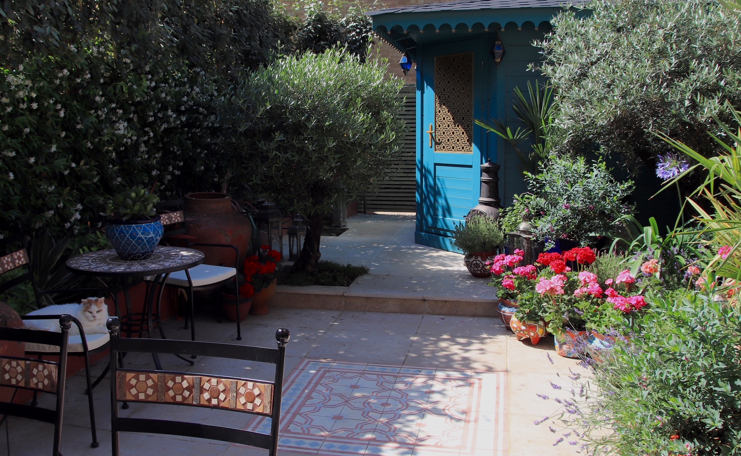 Award winning Moroccan Garden Design and Build.