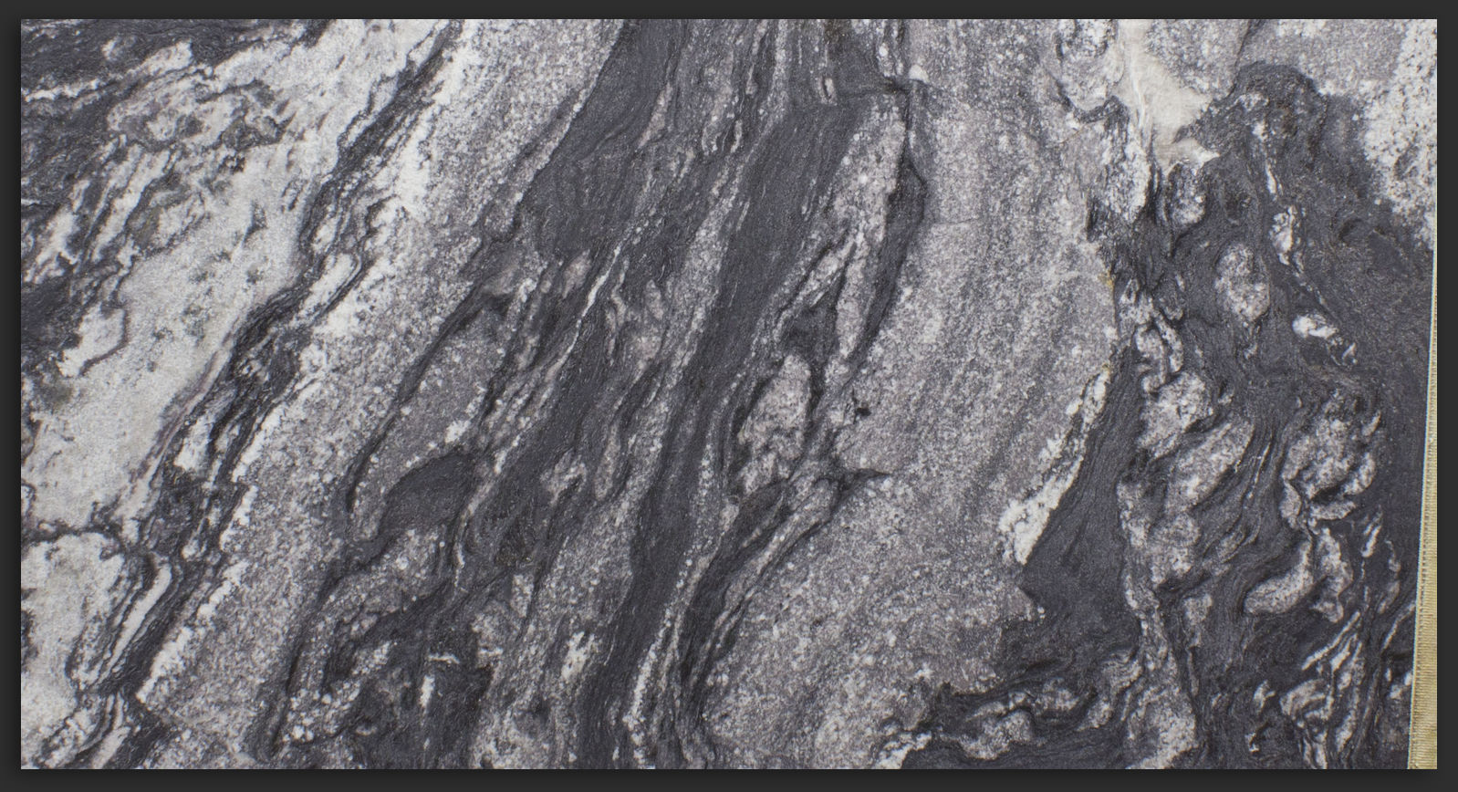 Atacama Black Granite photo courtesy of hollandmarbleandgranite.com
