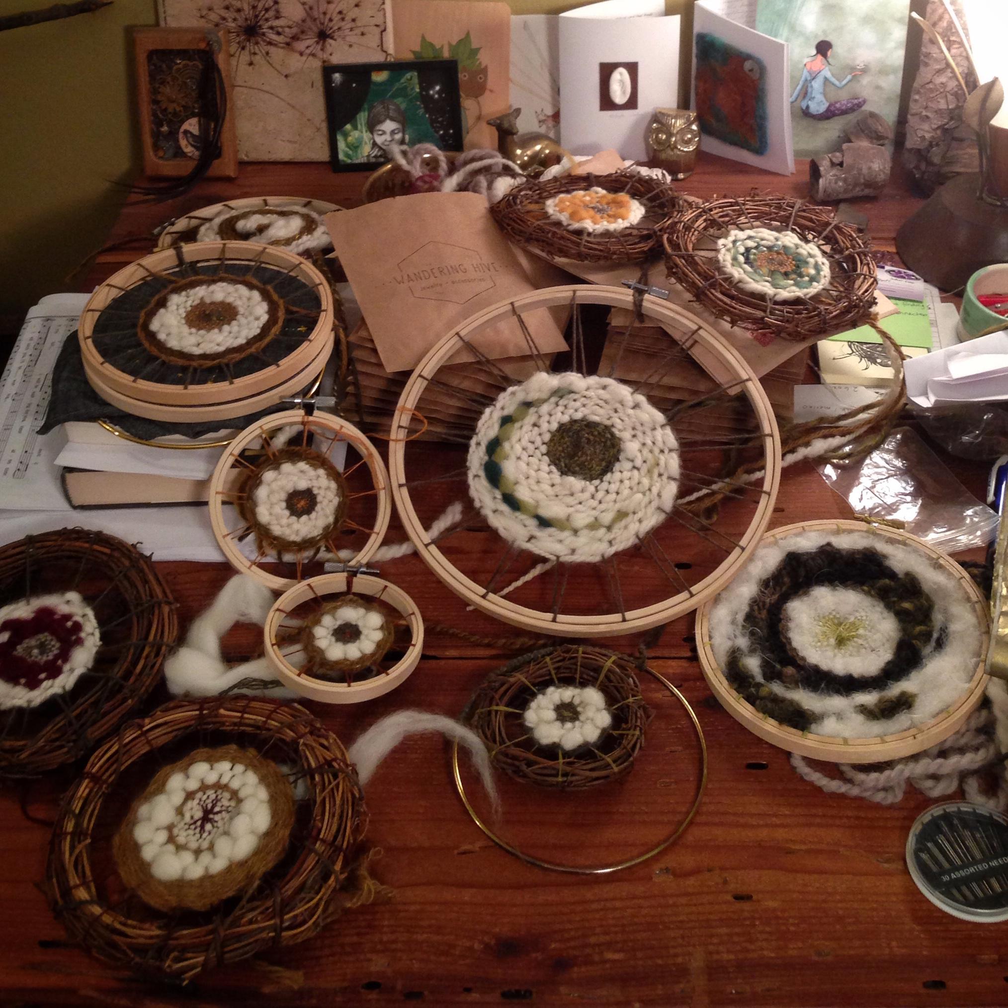 Weavings (wall hangings)