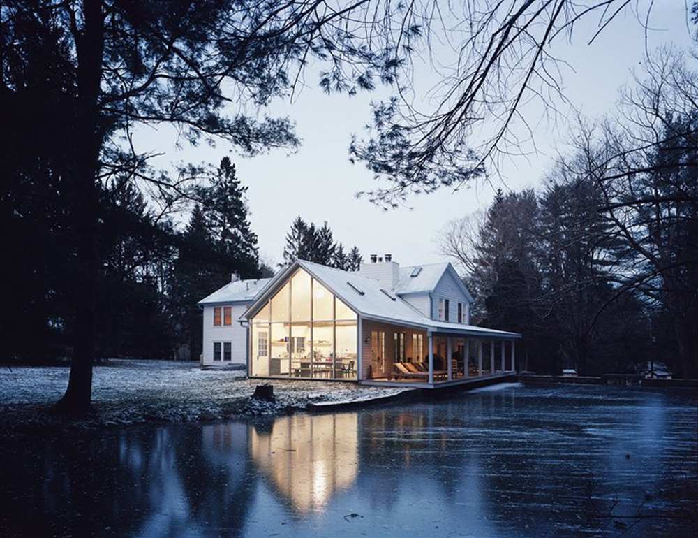 The Floating Farmhouse by  Givone Home
