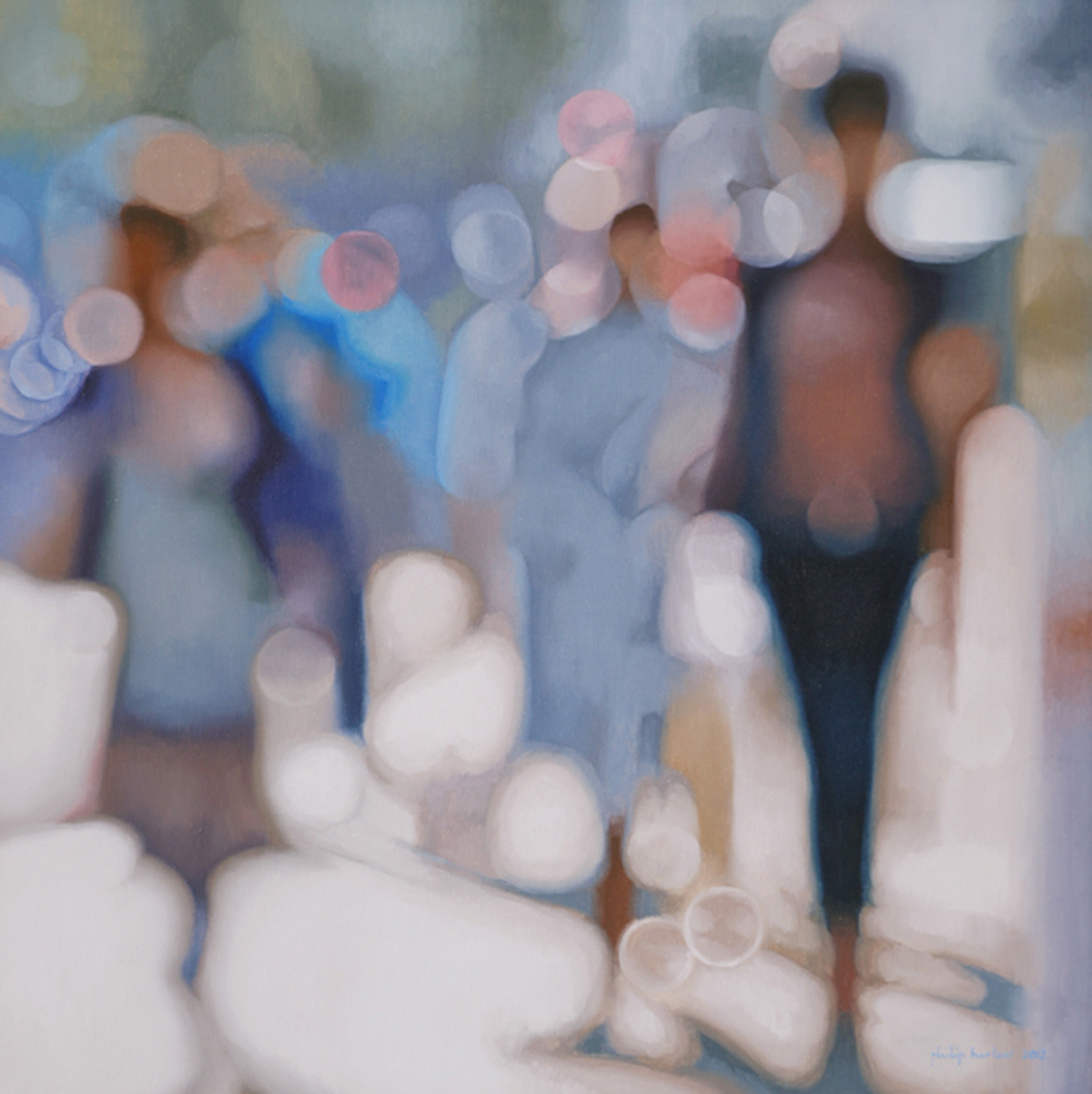 Afternoon Shimmer, oil on canvas,  Philip Barlow