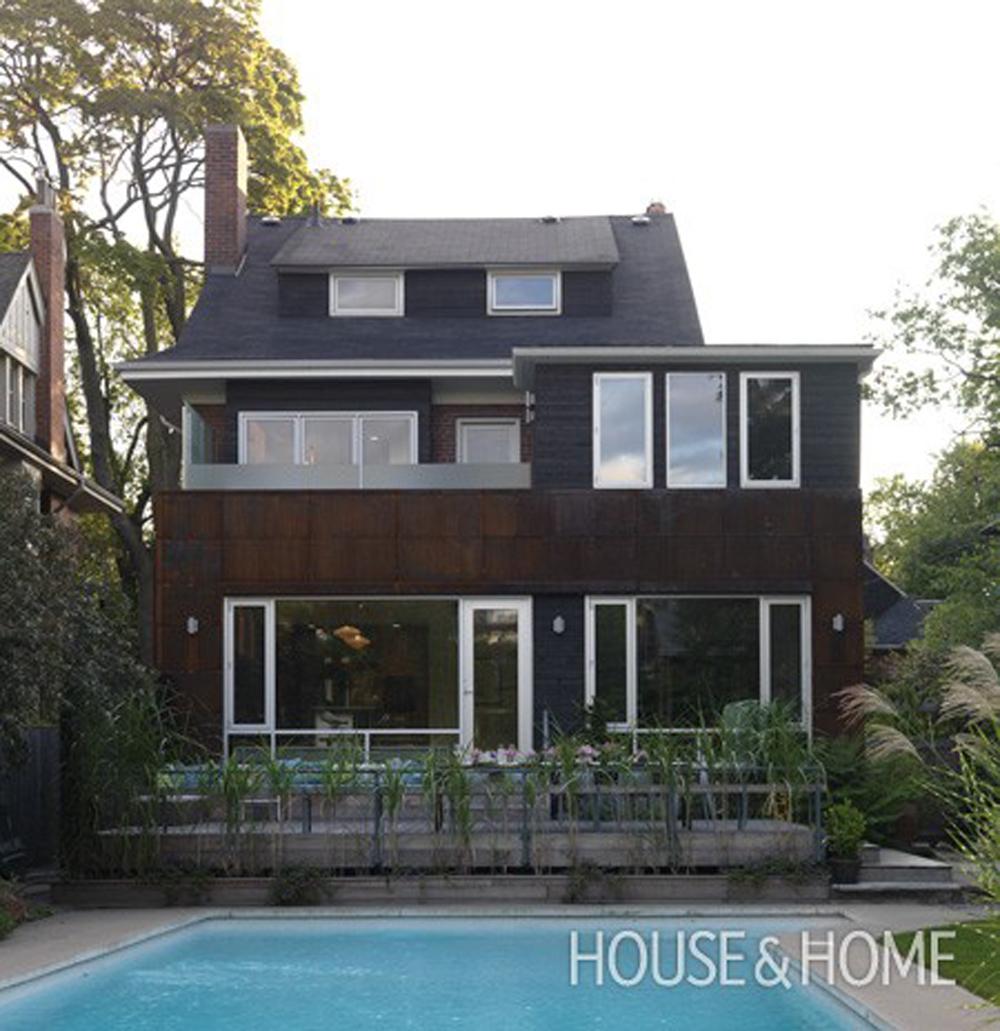 Karen von Hahn House Addition via  House & Home  design by 3rd Uncle Design