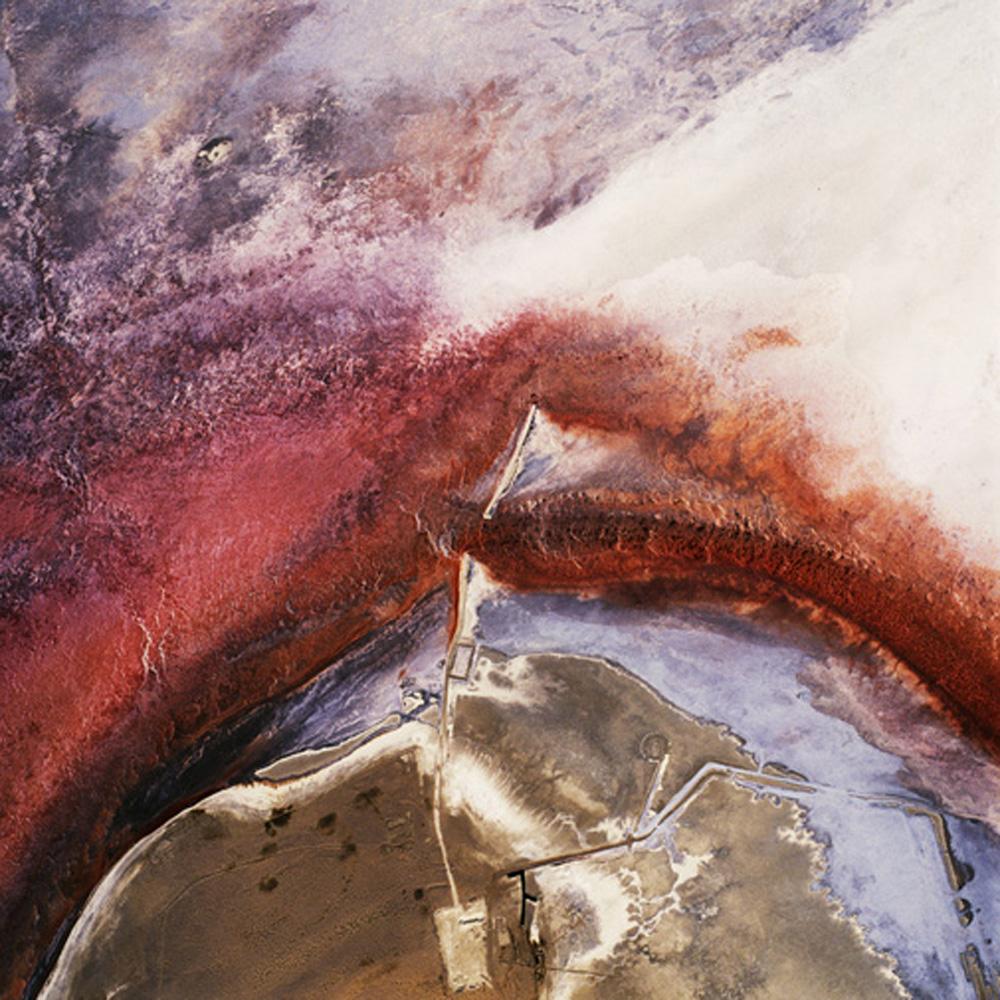 David Maisel,  The Lake Project 19