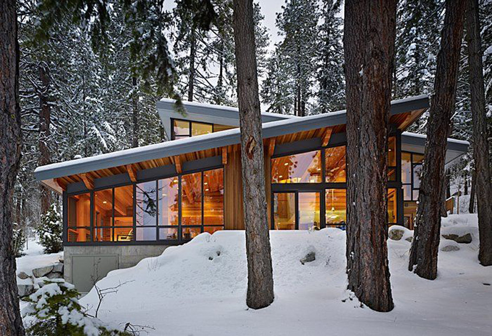 north lake wenatchee home by  DeForest Architects