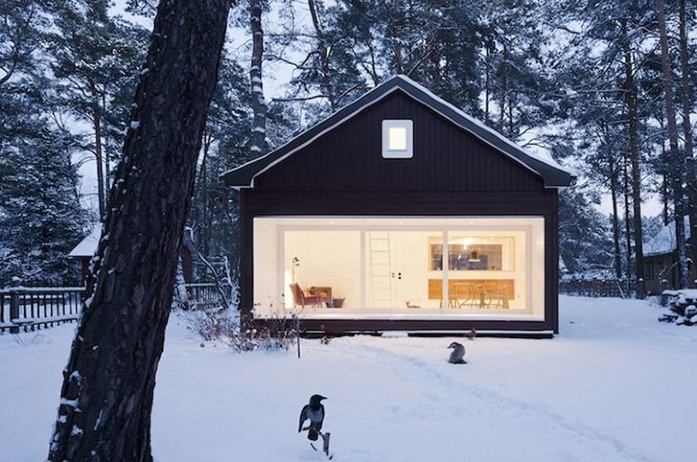 Forest House by  Atelier ST  via  this is paper