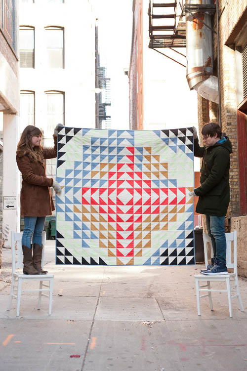 Arrow Quilt  by  Cortney Heimerl