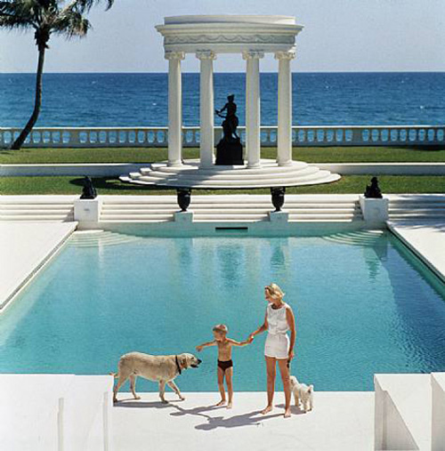 Nice Pool by Slim Aarons via  Photographers Gallery