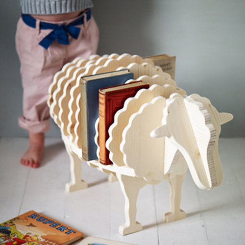 Baa-Baa Book Shelf  by  Rowen & Wren