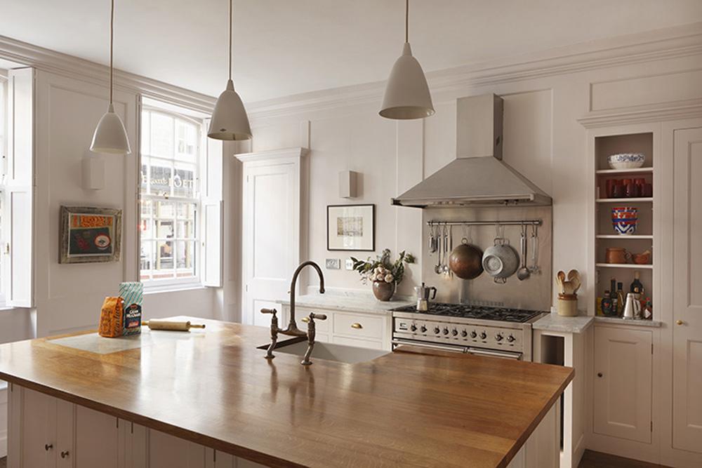 Merchant House kitchen  by  Plain English
