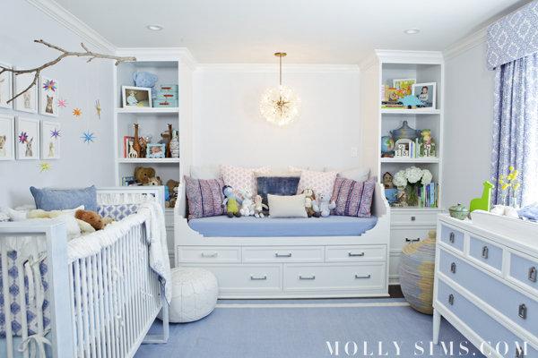 Molly Sim's nursery via  Lil Sugar