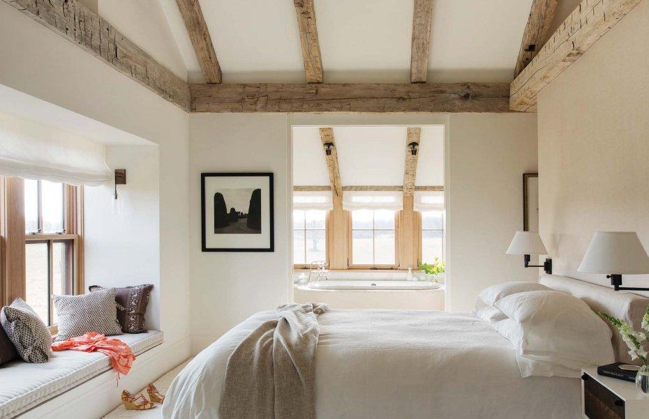 master bedroom by Hutker Architects