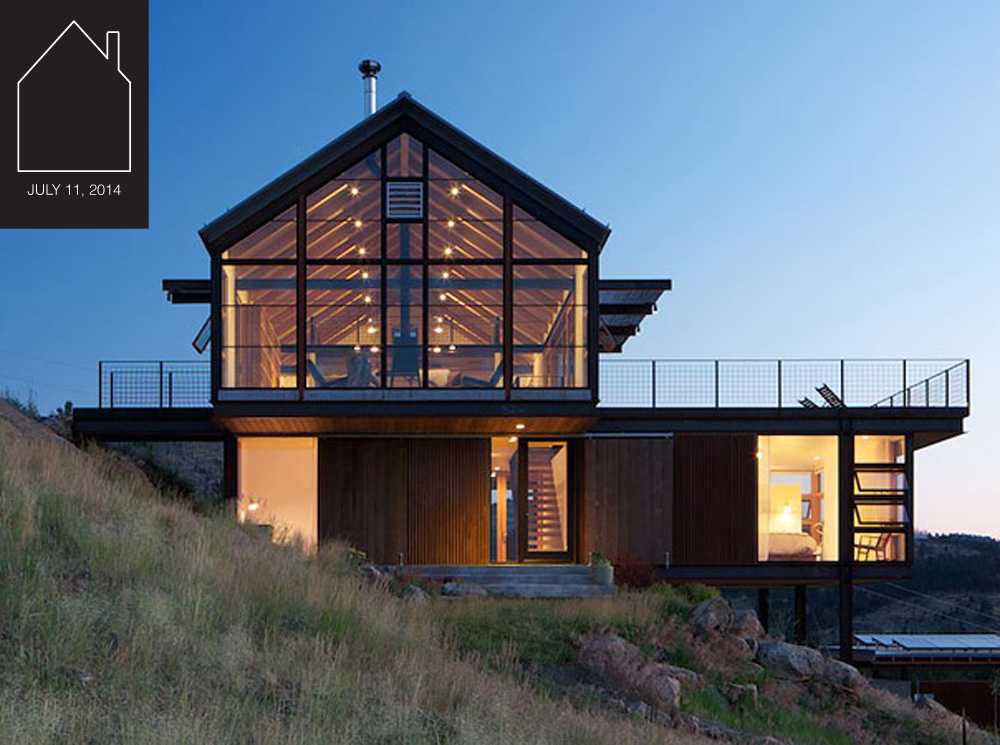 Sunshine Canyon House  designed by  Renee del Gaudio Architects