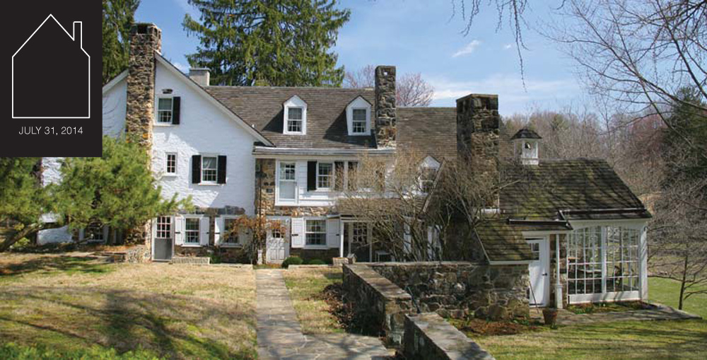 early revivalist farmhouse via  This Old House Online