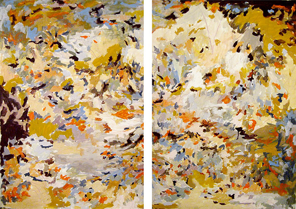 "Erin Lynn Welsh -  Epic  (2012) - 30"" x 44"" - Oil on Canvas"