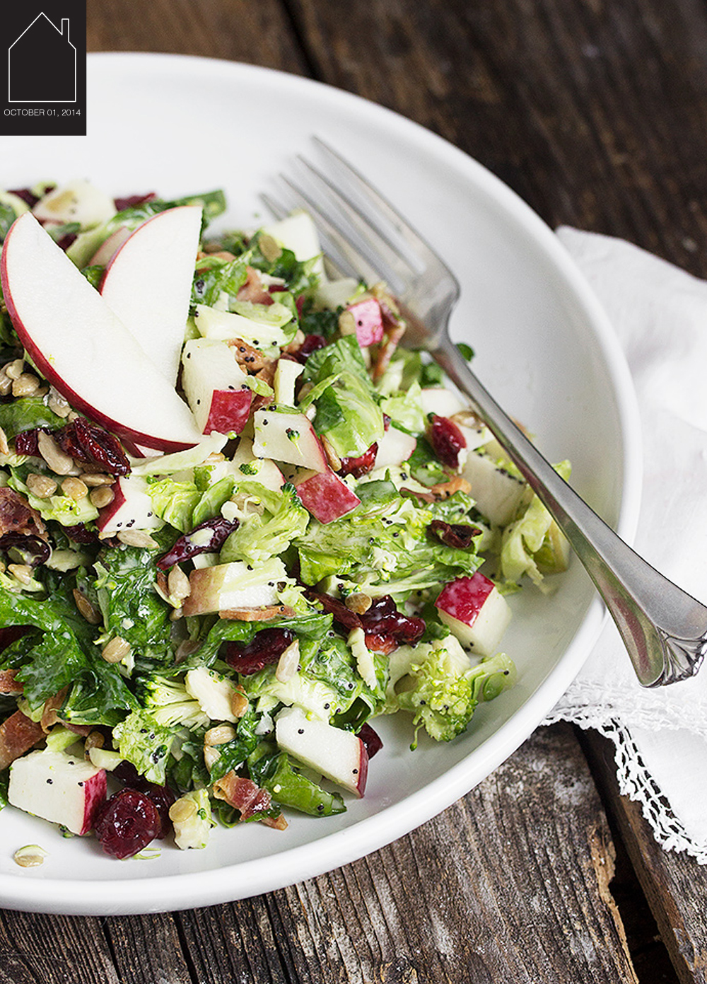 fall super salad via seasons & suppers