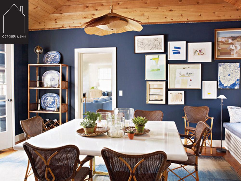 dining room design by  Tom Scheerer  via  Lonny