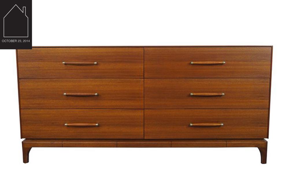 vintage dresser  by John Keal for Brown & Saltman via  Chairish