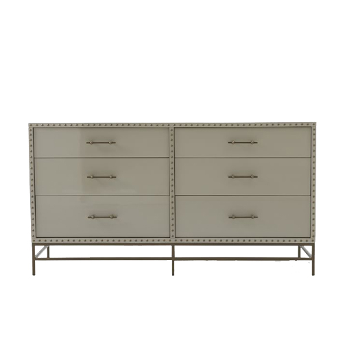 West Elm Nailhead 6-Drawer Dresser