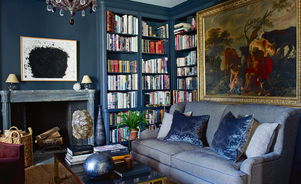 home of Aerin Lauder via  Mark D. Sikes