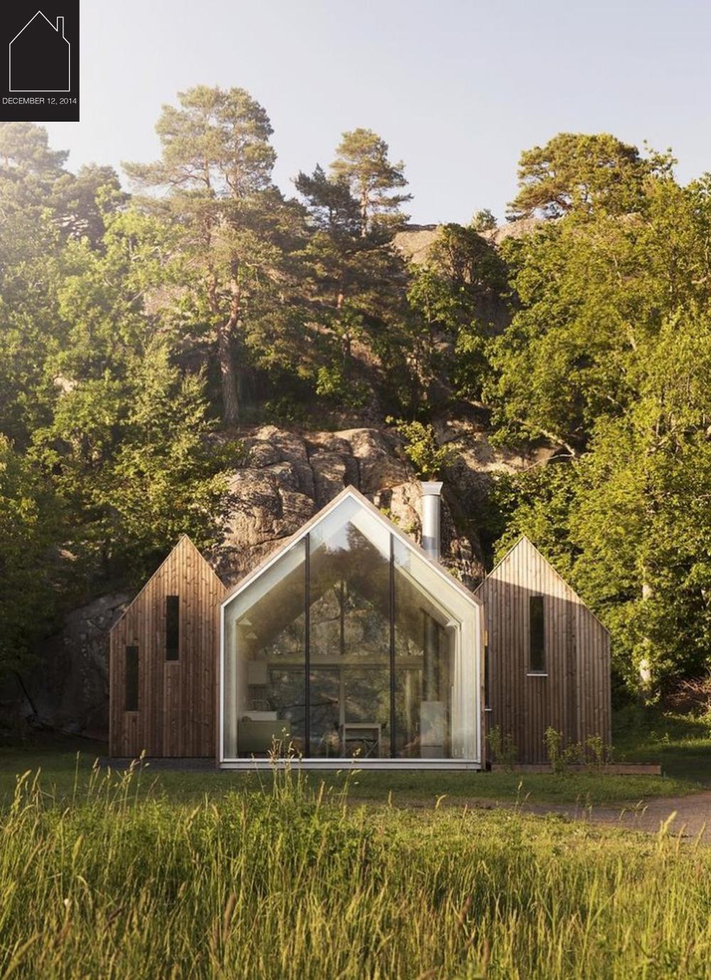cabins in Norway designed by  Reiulf Ramstad  via  GARDENISTA