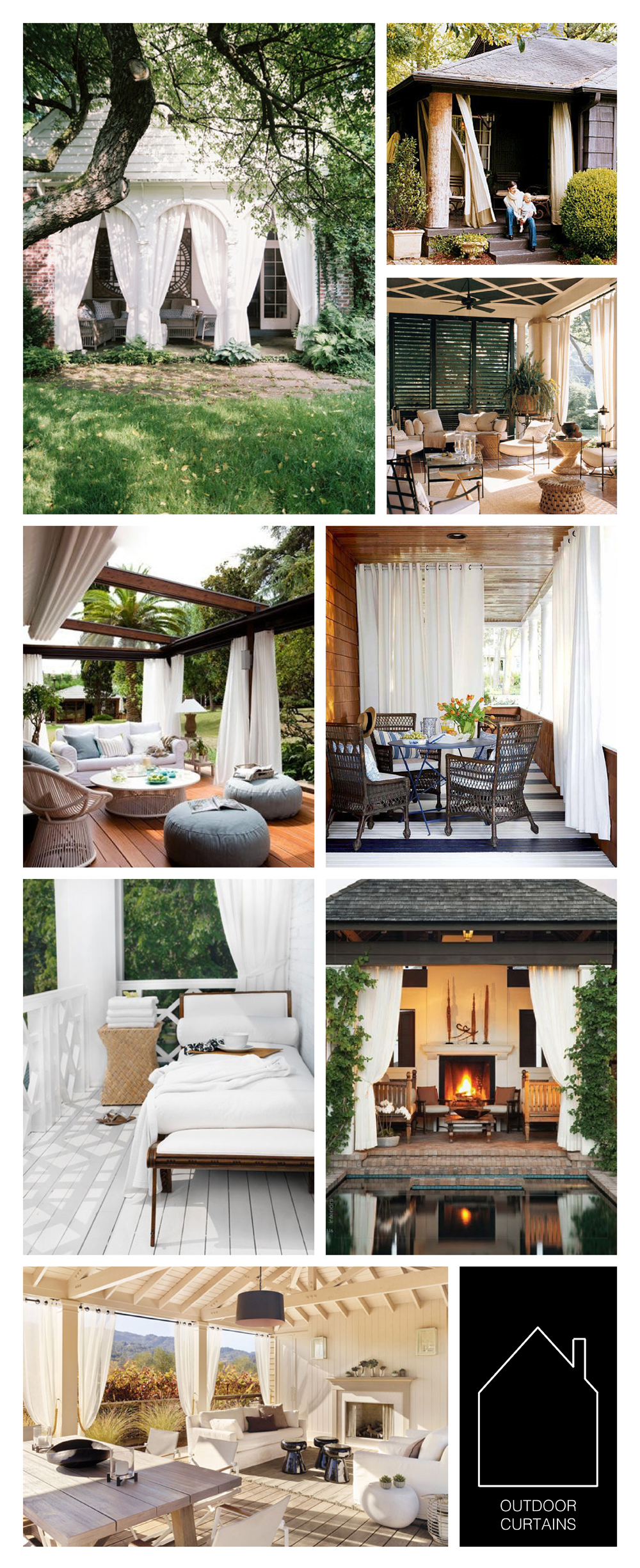 from top left  - home of J ohn Dransfield and Geoffrey Ross via  Lonny  - via  My House Ideas  -  via House Beautiful  - via  White + Gold  - source unknown - source unknown - via  Top Inspired  - Napa Valley home via  LUXE