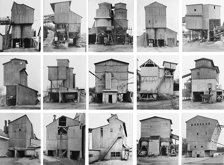 Bernd and Hilla Becher - Stoneworks, 1982 - 1992 -  Sonnabend Gallery