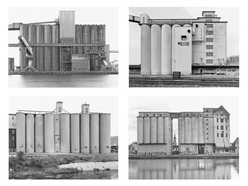 Bernd and Hilla Becher - Grain Elevators -  Sonnabend Gallery