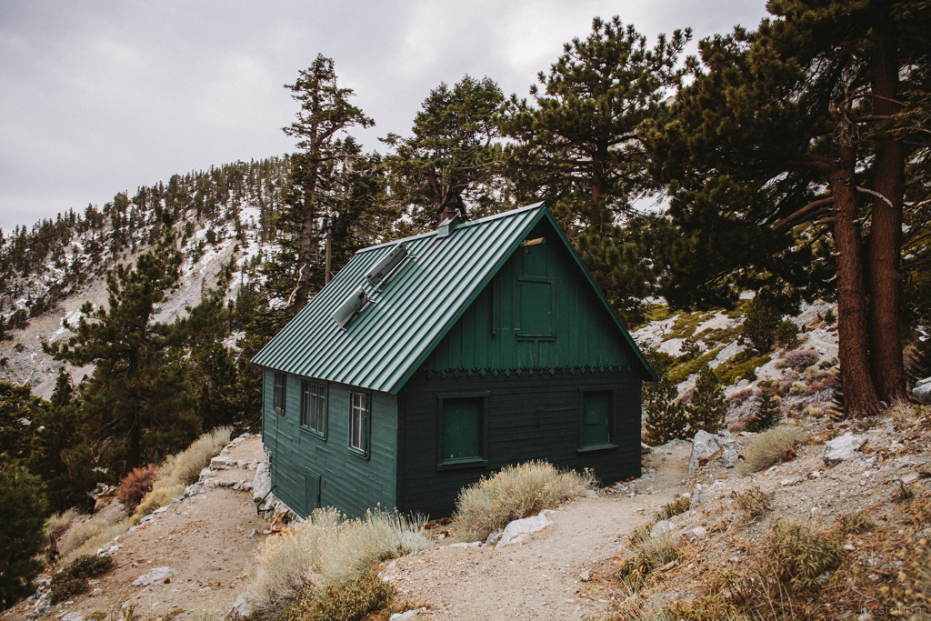Sierra Club's San Antonio Ski Hut  on Mount Baldy in Southern California