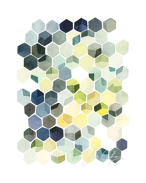 Yao Cheng -  Hexagon Shadows