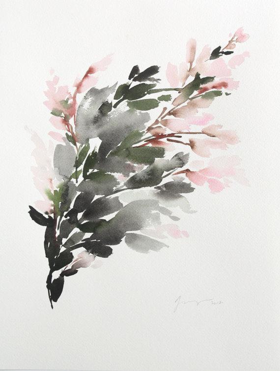 Yao Cheng -  Flora Strokes Study