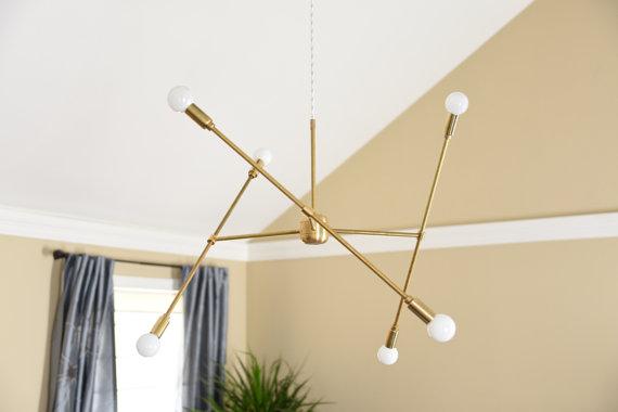 3 Arm Sputnik  by Illuminate Vintage