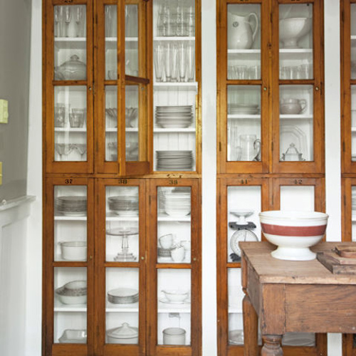 new uses for antique display cases  october 25, 2015