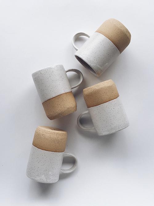 sylvan mug no.1 in speckled tan