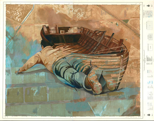 Laura Wills - Boat Lady - 2010 | THE PLACE HOME