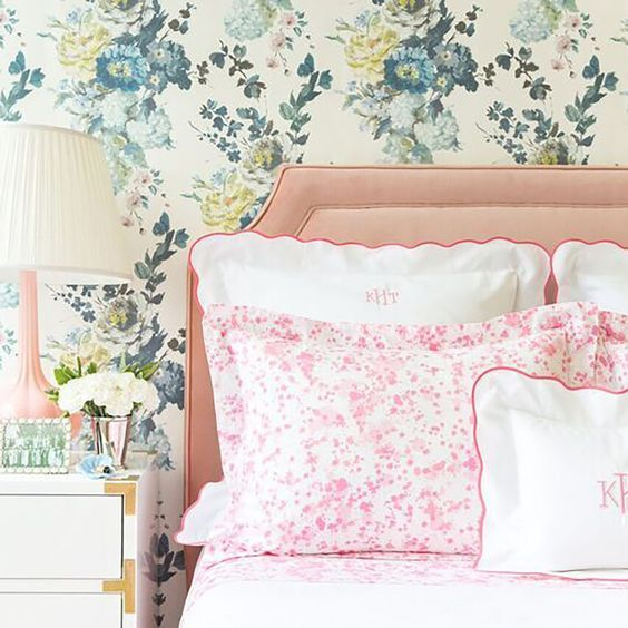 Austin in Pink collection via Biscuit Home | THE PLACE HOME