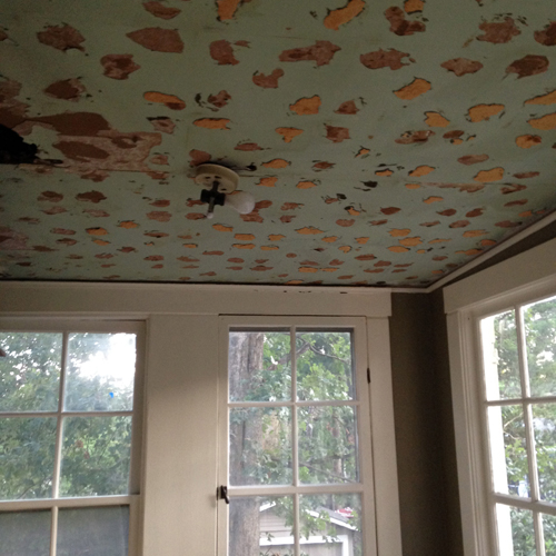 our bad ceilings    february 2, 2015